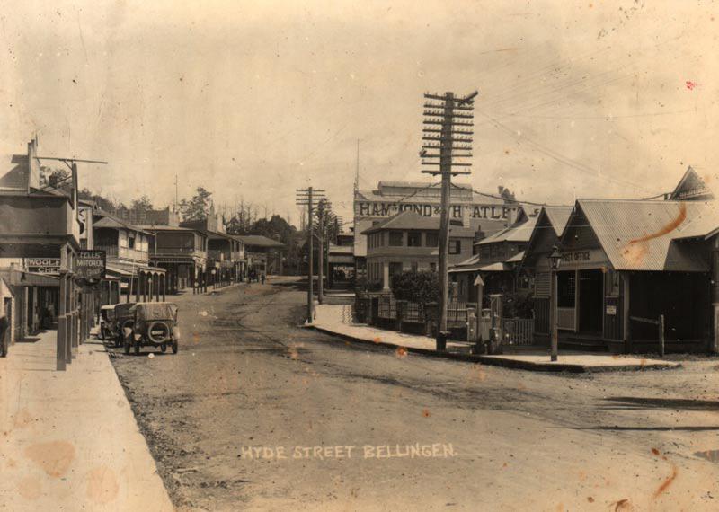 Hyde Street Bellingen 1922c