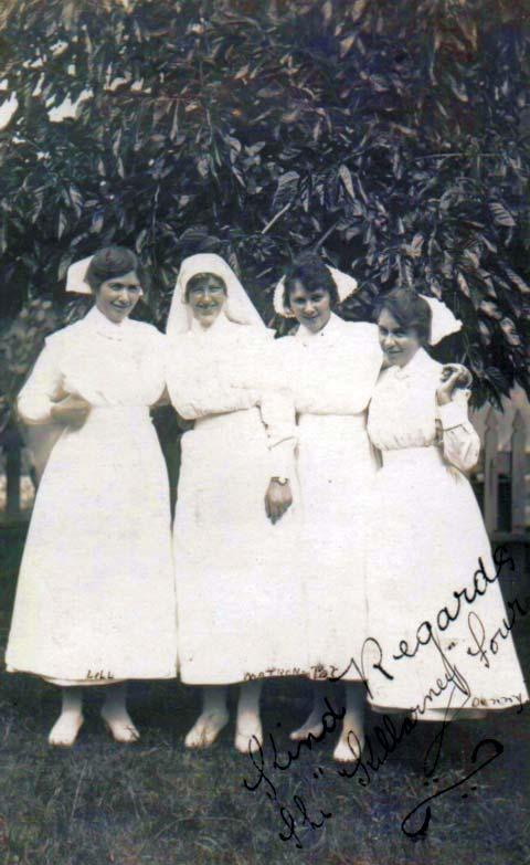 01005C-Killarney-Private-Hospital-Nurses-c1920