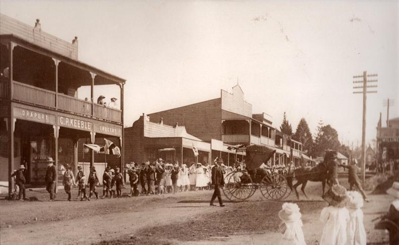Belingen Hyde St 1901