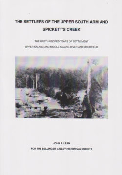 The Settlers of the Upper South Arm and Spicketts Creek