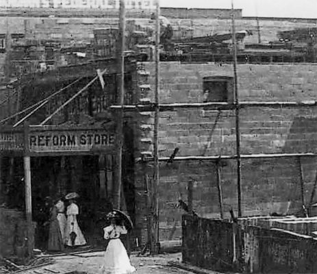 Construction of Hammond and Wheatley Early 1900s