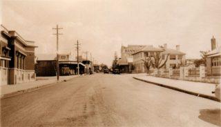 Hyde St Bellingen Circa 1930's - 00453