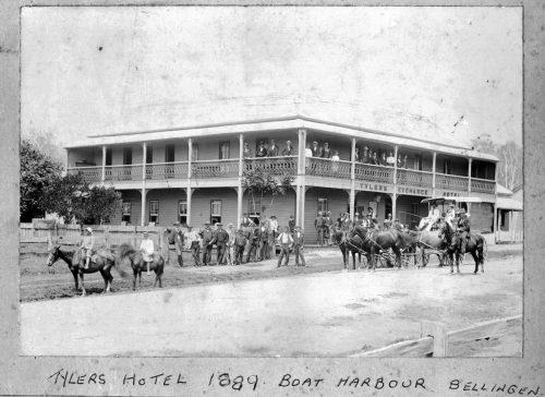 Tyler's Hotel 1889 Boat Harbour Bellingen