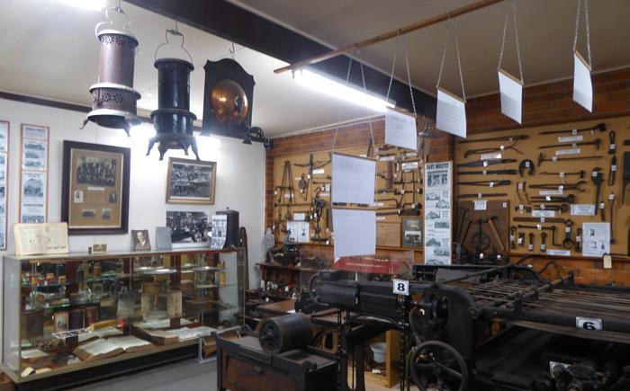 Centurian  Printing Press Bellingen Museum